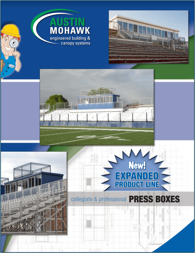 brochure press box 2x