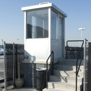 Security Shack, Guard Shack, Warehouse Control Point Booth