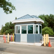 Guard Booth, Guard Shack, Access Control Booth, Information Booth
