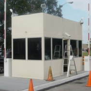 Security Building, Security Booth, Guard Booth