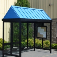 Transit Shelter, Bus Shelter, Passanger Waiting Shelter, Smoking Shelter