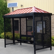Transit Shelter, Bus Shelter, Passanger Waiting Shelter