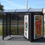 Transit Shelter / Bus Shelter / Passenger Waiting Shelter