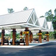 Gas Station Canopy, Convenience Store Canopy