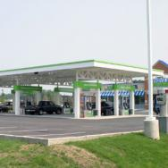 Gas Station Canopy, Gas Island Canopy, Convenience Store Canopy
