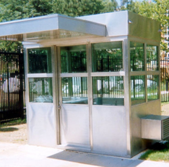 Security Building / Security Booth / Guard Booth   Austin Mohawk