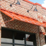 Sun Shade Canopy, Metal Window Treatments